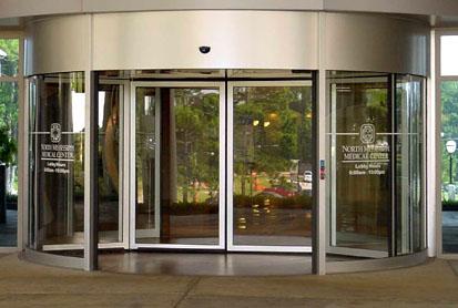 玻璃感应门,玻璃旋转门,玻璃门,电动门