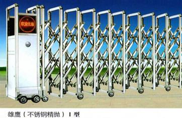 不锈钢伸缩门,电动伸缩门,智能伸缩门